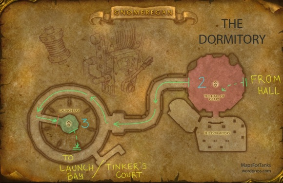 Maps For Tanks: Gnomergan, The Dormitory