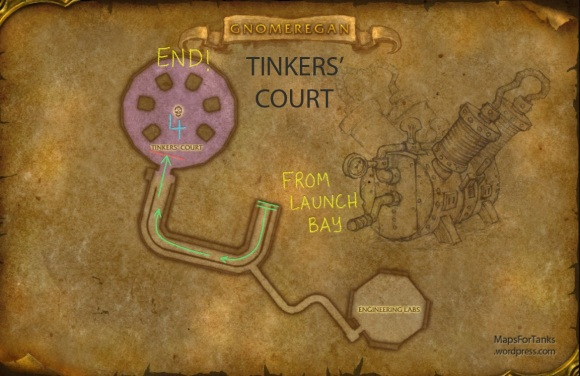 Maps For Tanks: Gnomeregan, The Tinker's Court