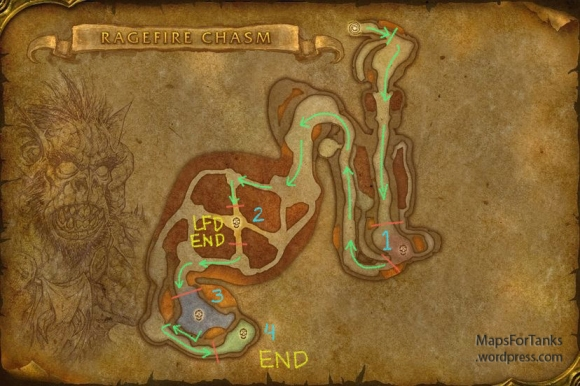 Maps For Tanks: Ragefire Chasm, Orgrimmar