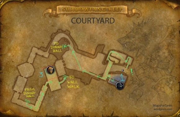 Maps For Tanks: Shadowfang Keep, Courtyard