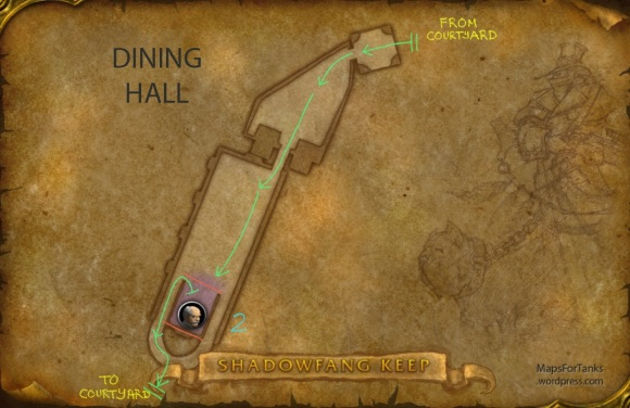 Maps For Tanks: Shadowfang Keep, Dining Hall
