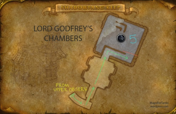Maps For Tanks: Shadowfang Keep, Lord Godfrey's Chambers