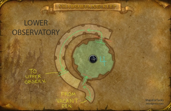 Maps For Tanks: Shadowfang Keep, Lower Observatory