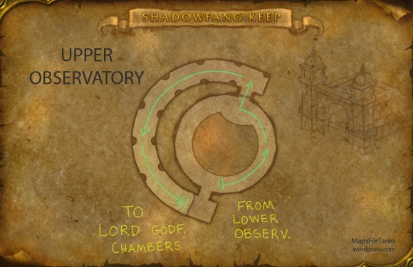 Maps For Tanks: Shadowfang Keep, Upper Observatory