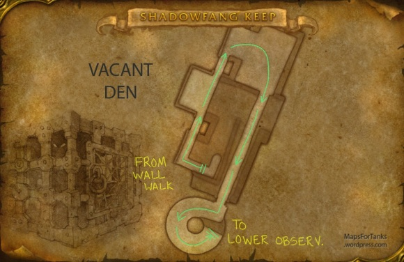 Maps For Tanks: Shadowfang Keep, Vacant Den