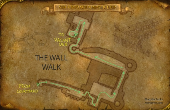 Maps For Tanks: Shadowfang Keep, The Wall Walk