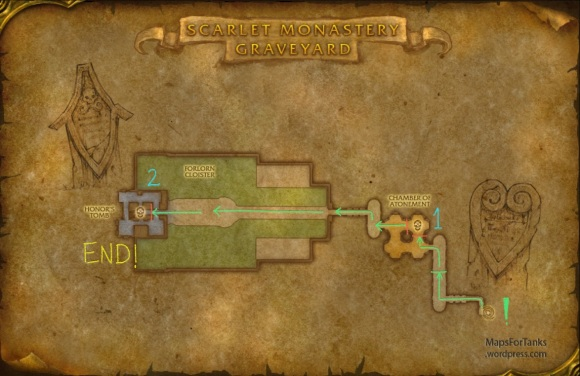 Maps For Tanks: Scarlet Monastery, The Graveyard