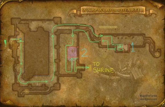 Maps For Tanks: Dire Maul, Warpwood Quarter