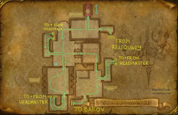 Maps For Tanks: Scholomance, Chamber of Summoning