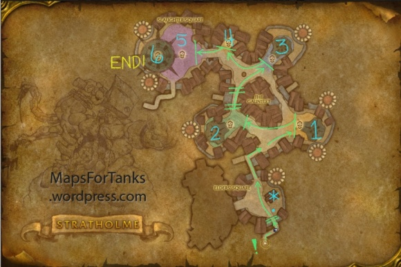 Maps For Tanks: Stratholme Service Entrance