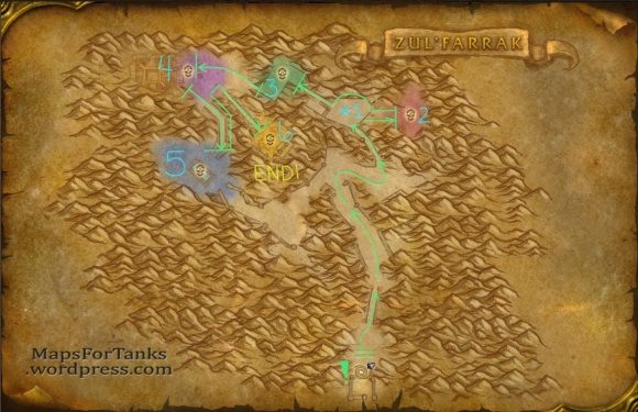 Maps For Tanks: Zul'Farrak